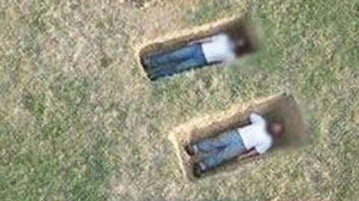 На Google Maps разглядели тела, только что захороненные в могилах