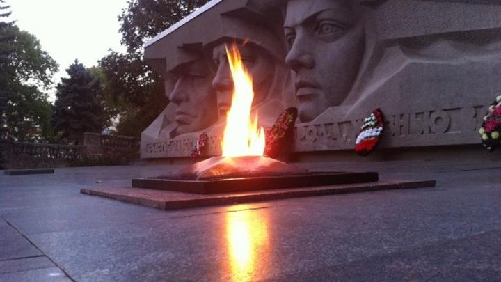 Вечный огонь обновят в Ставрополе