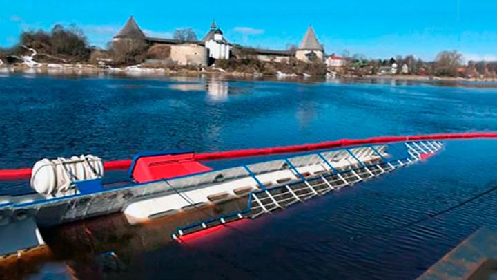 Концентрация нефтепродуктов в реке Волхов выше нормы в 32 раза