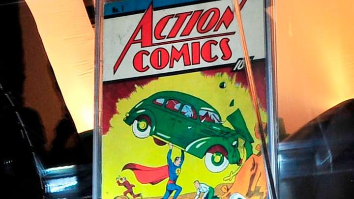 Комикс, где впервые появился Супермен, продали за миллионы долларов