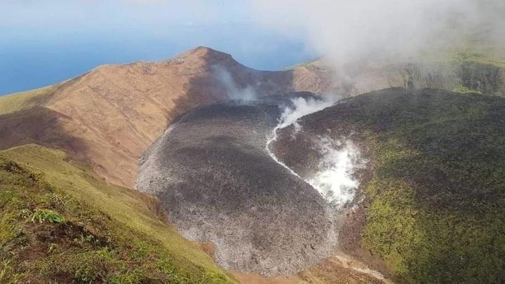 Пробудился один из древнейших вулканов Вест-Индии