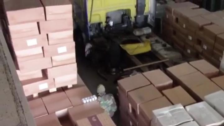 В Калининградской области изъято 3,5 миллиона пачек контрабандных сигарет
