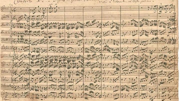 "Рукопись Пятого ""Бранденбургского"" концерта Баха /nytimes.com/"