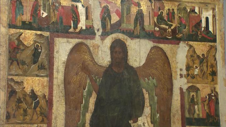 В Центре имени Грабаря отреставрировали древнюю икону
