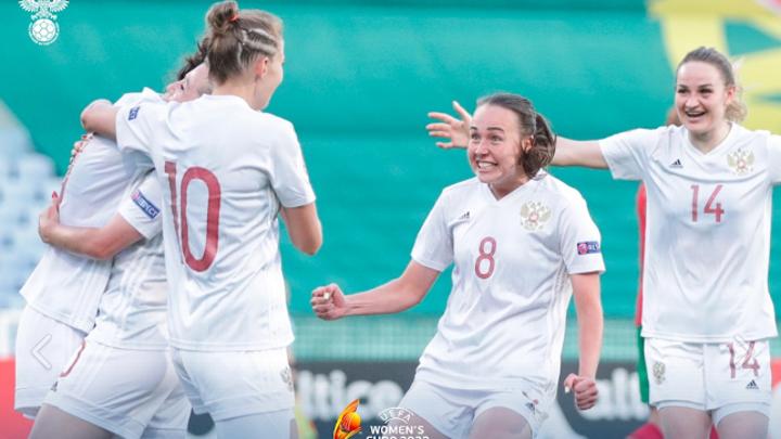 Футболистки России обыграли Португалию в стыковом матче Евро-2022