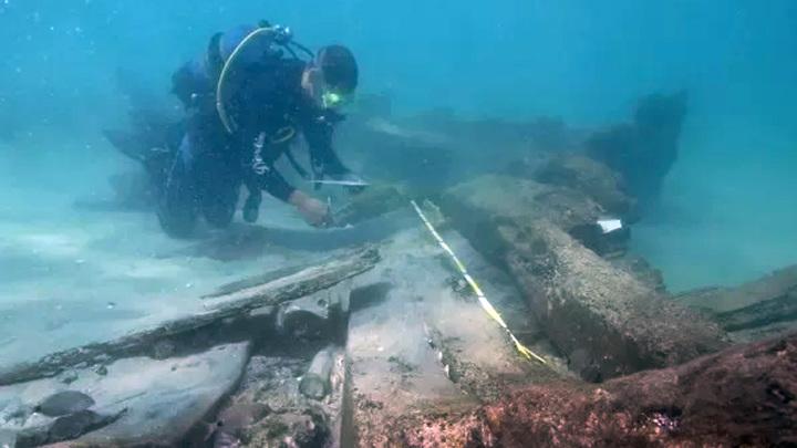 Обнаружены фрагменты потерпевшего кораблекрушение судна XVIII века