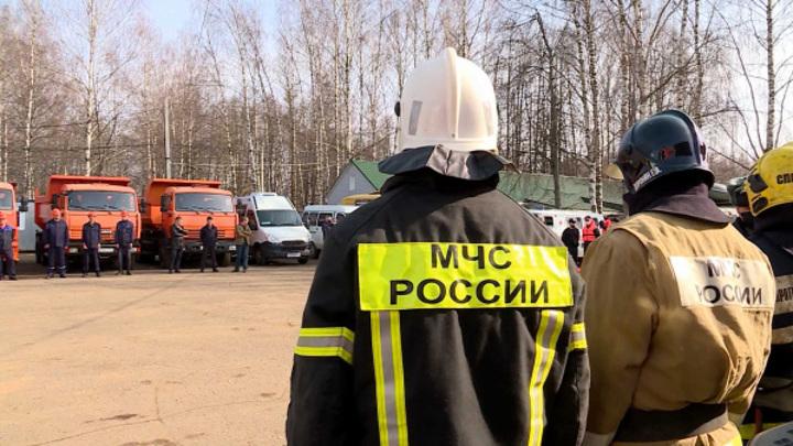 В Костроме прошел смотр спасательной техники