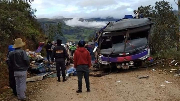 В Перу 20 человек погибли в автокатастрофе