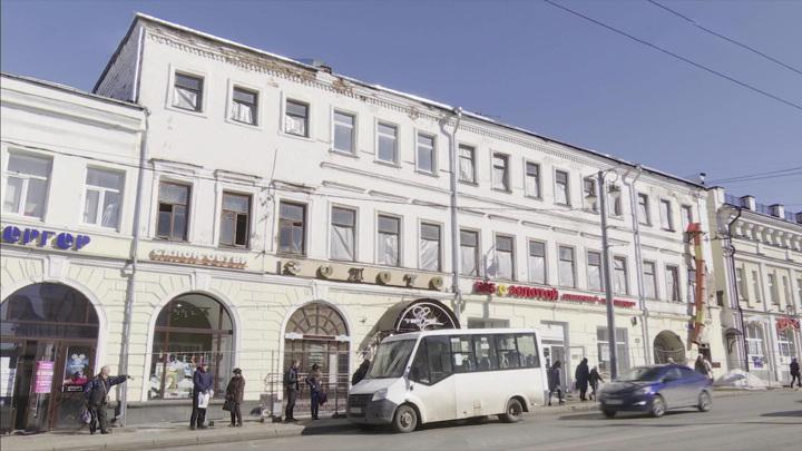 Приостановлена реконструкция Дома купца Васильева во Владимире