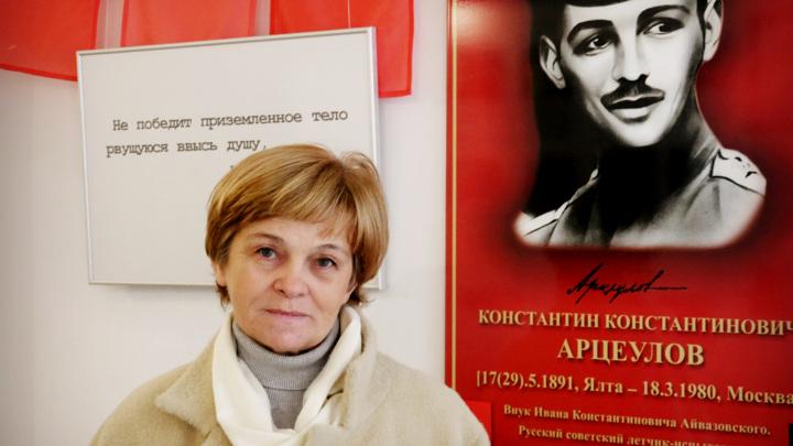 председатель городской общественной организации «Феодосийский музей дельтапланеризма» Ольга Селевич