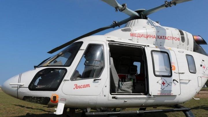 Севастопольский рейс санавиации доставил на Кубань ребенка с ожогами