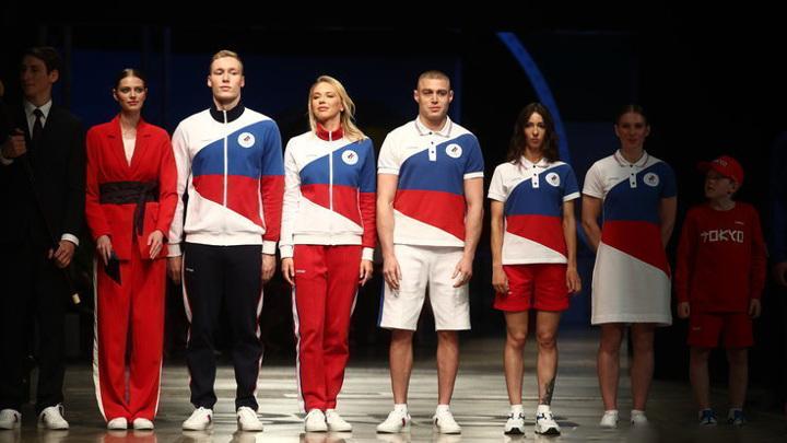 Представлена форма сборной России для Олимпиады в Токио