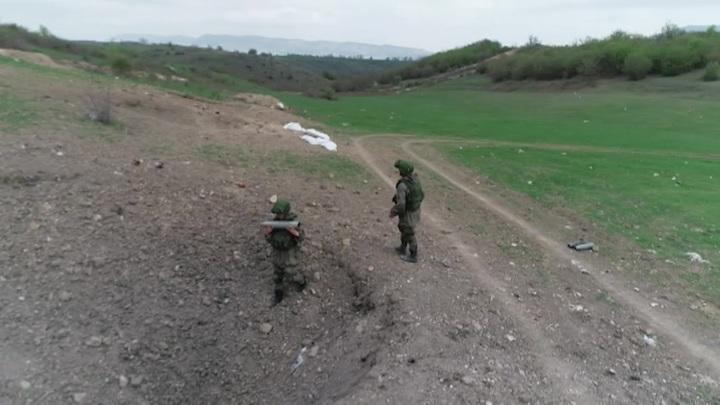 Миротворцы России обеспечивают безопасность посевной в Карабахе
