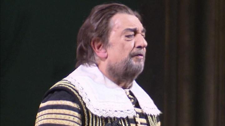 """Пласидо Доминго исполняет """"Дона Карлоса"""" в Большом театре"""