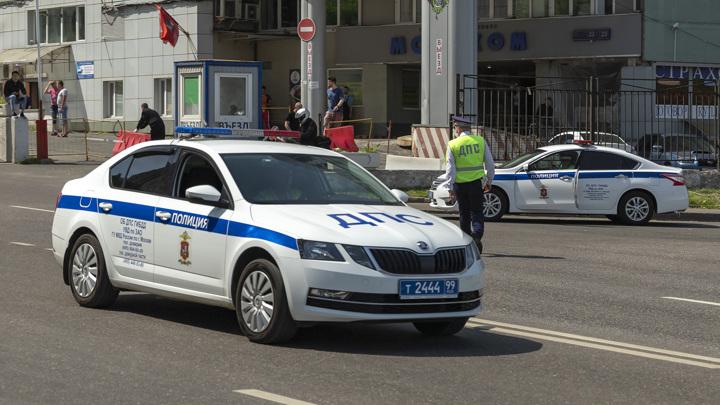В Москве пресечено передвижение более 1,5 тысяч незарегистрированных машин