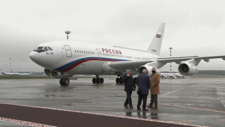 Михаил Мишустин прилетел в Минск с рабочим визитом