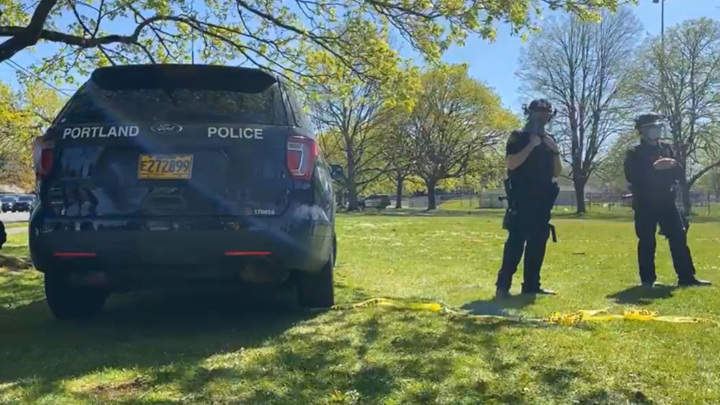 Полиция Портленда застрелила в парке неадекватного американца