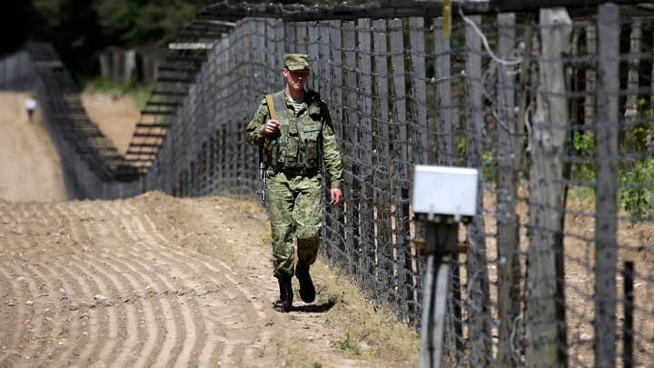 У границы Белоруссии наращивается иностранное военное присутствие