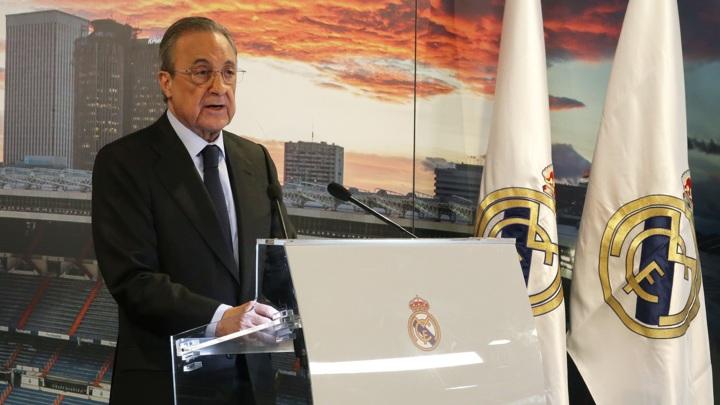"""Глава Суперлиги Перес: """"Реал"""" не исключат из Лиги чемпионов"""