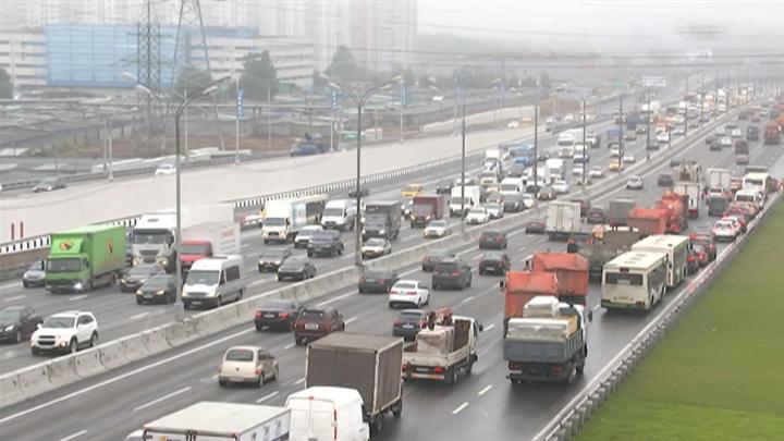 В пятницу вечером в Москве ожидаются девятибалльные пробки