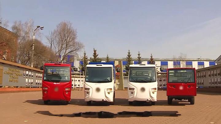 """Электрокар """"Муравей"""" и родстер """"Крым"""": новые авто для полиции"""