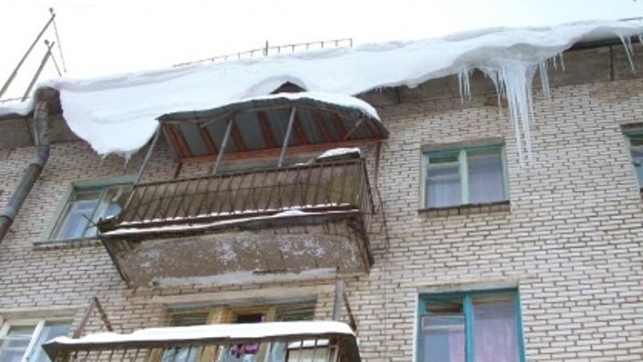 СК завершил расследование дела по факту схода наледи с крыши на подростка