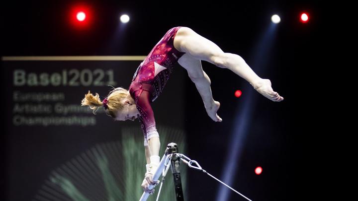 Российские гимнастки завоевали золото и серебро чемпионата Европы