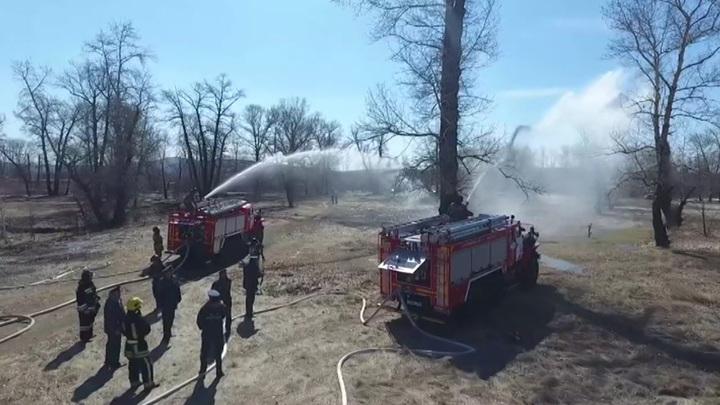 Тюмень оказалась во власти смога от природных пожаров