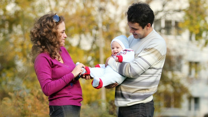 Путин: продолжим поддерживать семьи с детьми
