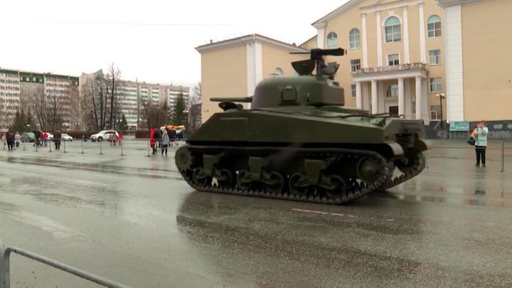 На Урале прошла подготовка к Параду Победы