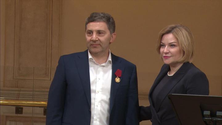 Ольга Любимова вручила почетные награды деятелям культуры