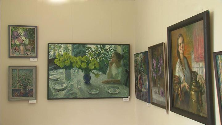 """Выставка """"Разговор с мастером"""" открылась в центре Игоря Грабаря"""