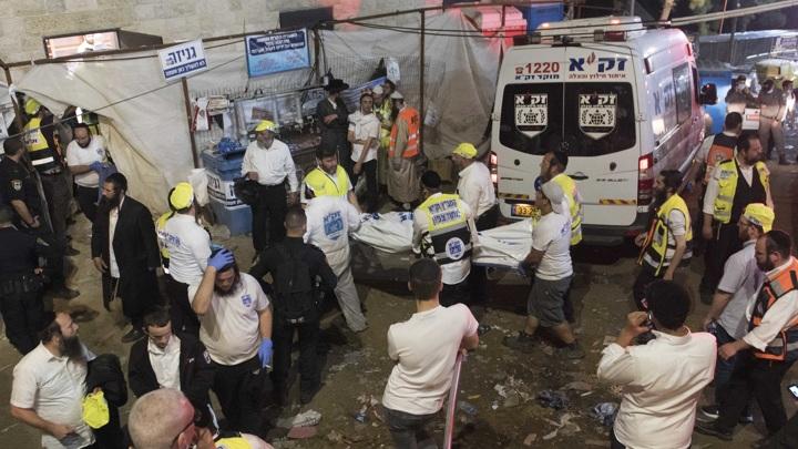 Обрушение в синагоге: к месту ЧП отправили вертолеты