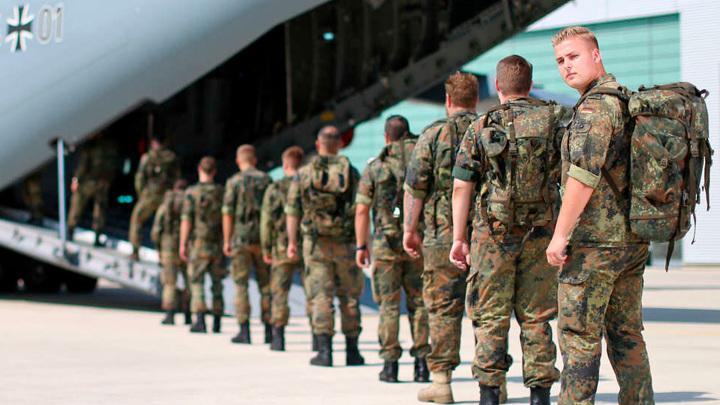 Немецкие военные уходят из Афганистана