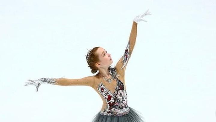 Фигуристка Берестовская тренируется в академии Плющенко