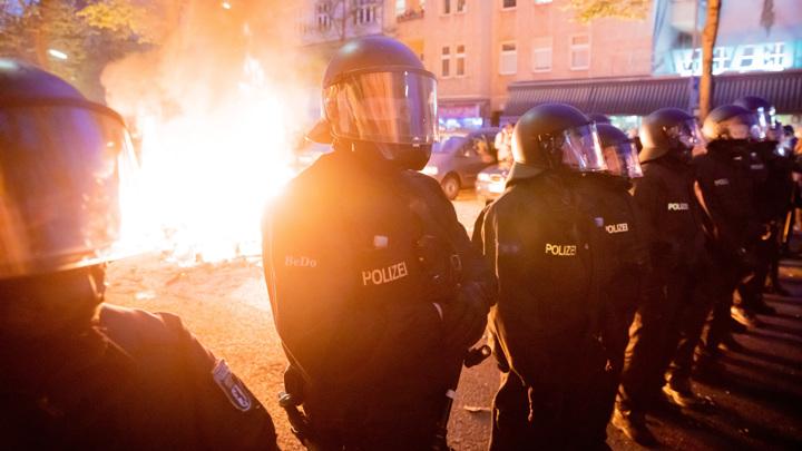 В Берлине на первомайских демонстрациях были задержаны 354 человека