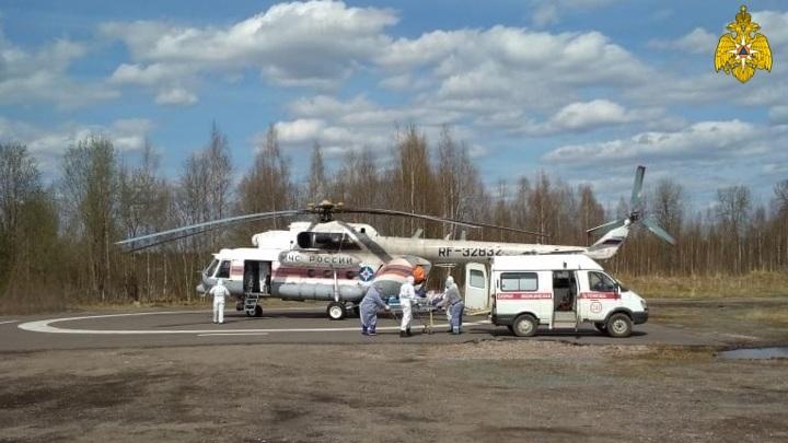 Вертолет санавиации совершил вылет в Нелидово