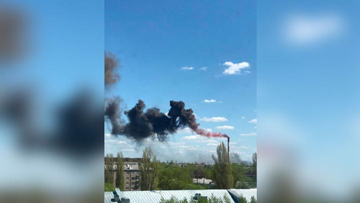 Пожар на воронежском заводе охватил 150 квадратных метров