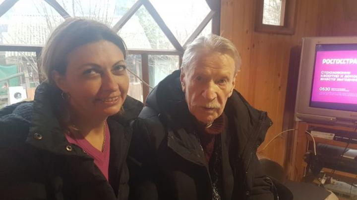 90-летний Краско закрутил роман с обеспеченной дамой