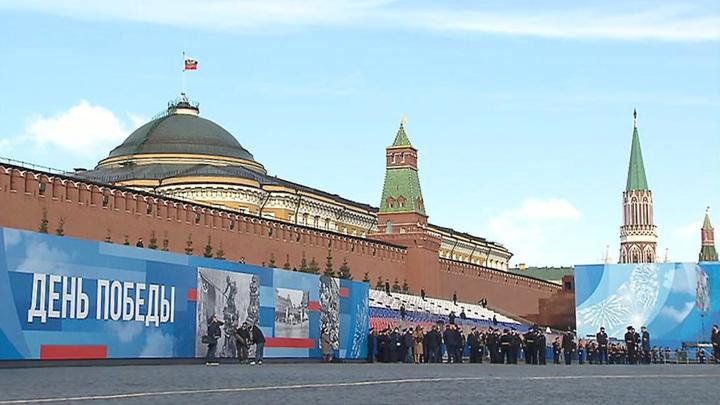 9 мая в центре и на северо-западе Москвы будут перекрыты десятки улиц