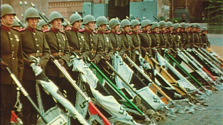 Первый Парад Победы: выставка на Поклонной горе