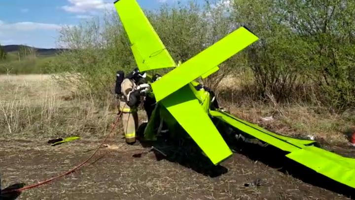 По словам очевидцев, разбившиеся в самолете угонщики были пьяны
