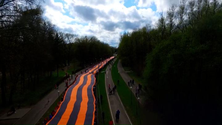 В честь Дня Победы в Смоленске провели необычную акцию