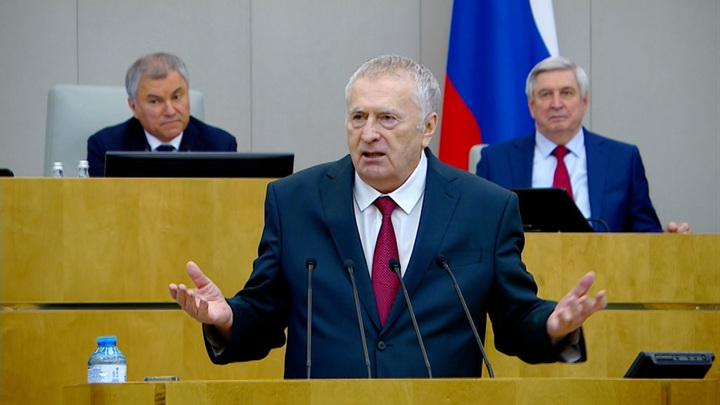 Жириновский предложил не сообщать о стрельбе в школах