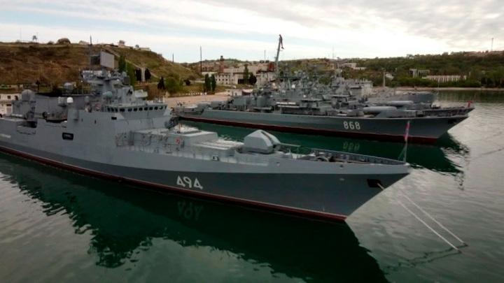 """От """"Москвы"""" до """"Бала"""": Черноморский флот отмечает 238-й день рождения"""