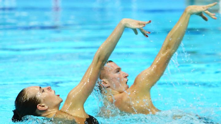 Платонова и Мальцев выиграли очередное европейское золото в синхронном плавании