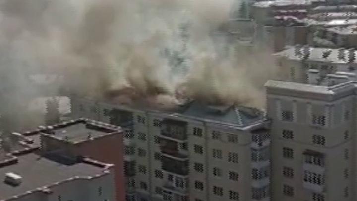Прокуратура назвала причину пожара в сталинке Екатеринбурга