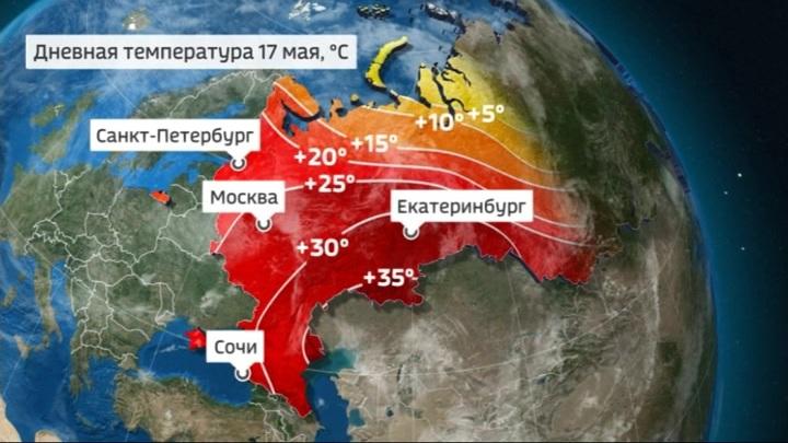 Эксклюзивный прогноз погоды