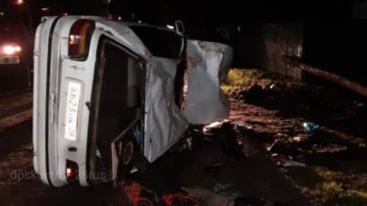 В ночном ДТП в Архаре погибли два человека