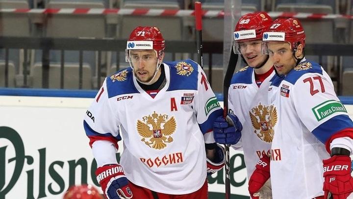 Российские хоккеисты прибыли в Ригу на чемпионат мира